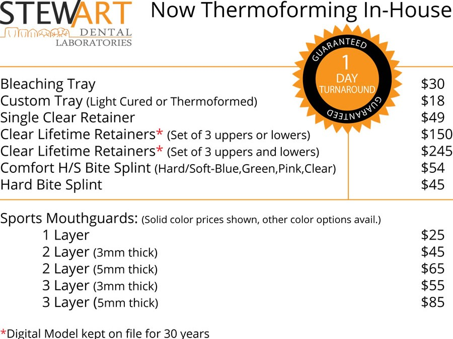 Now Thermoforming in Office
