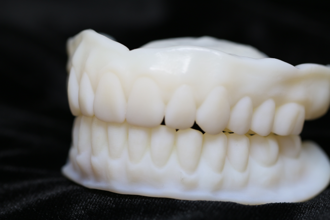3d printed denture tryin